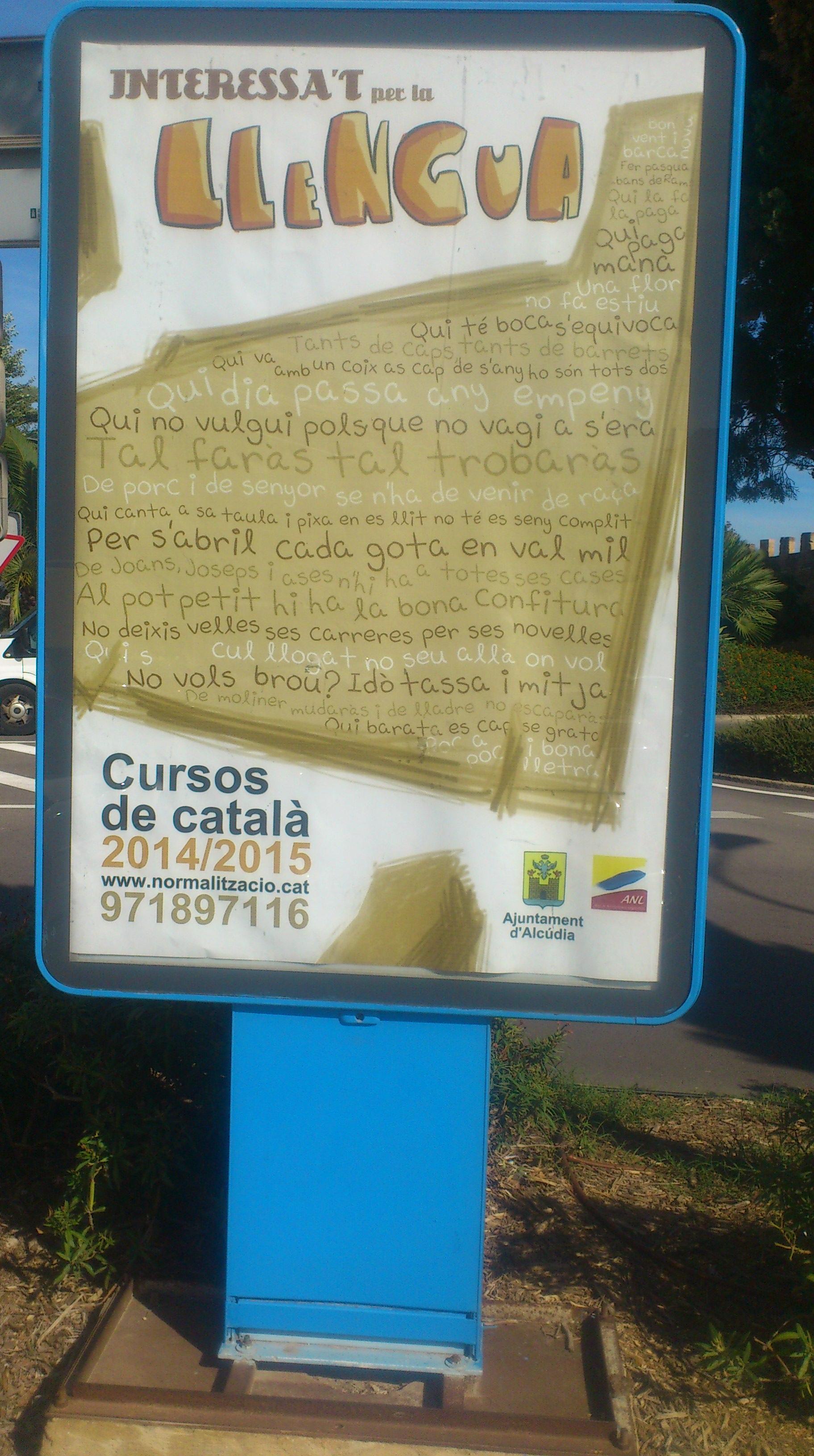 Opi del Cursos de Catal� 2014-2015